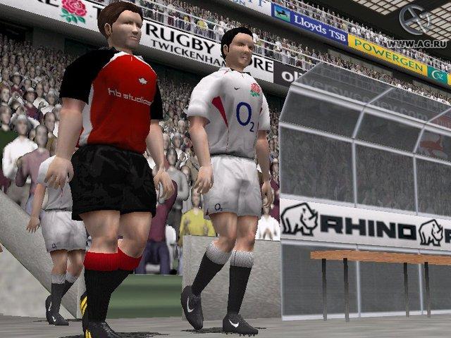 Rugby 2004 screenshot