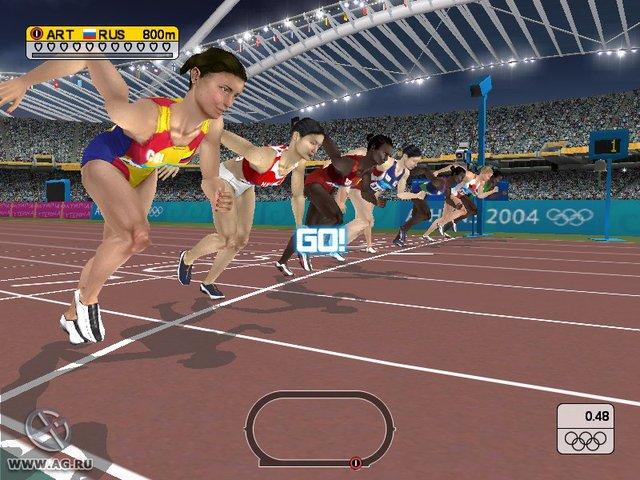 Athens 2004 screenshot