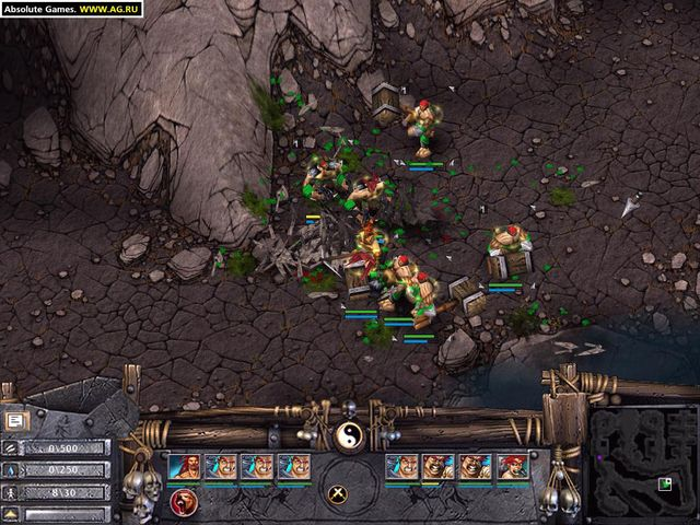 Battle Realms: Winter of the Wolf screenshot