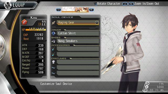 Tokyo Xanadu eX+ screenshot