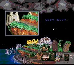 ClayFighter 2: Judgment Clay screenshot