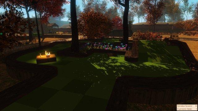 Autumn Park Mini Golf screenshot
