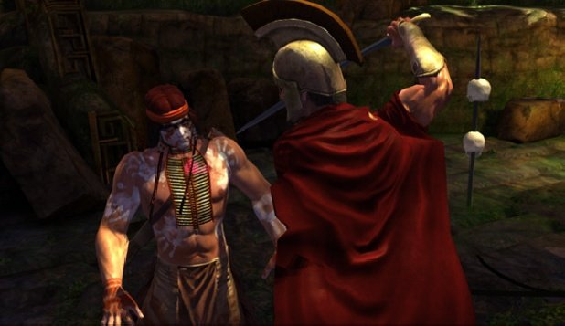 Deadliest Warrior: The Game screenshot