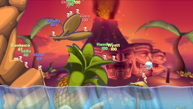 Worms (2007) screenshot