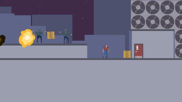 Throw Baction Hero screenshot