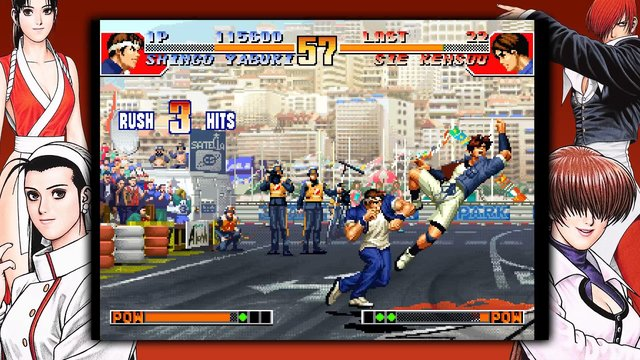 THE KING OF FIGHTERS '97 GLOBAL MATCH screenshot