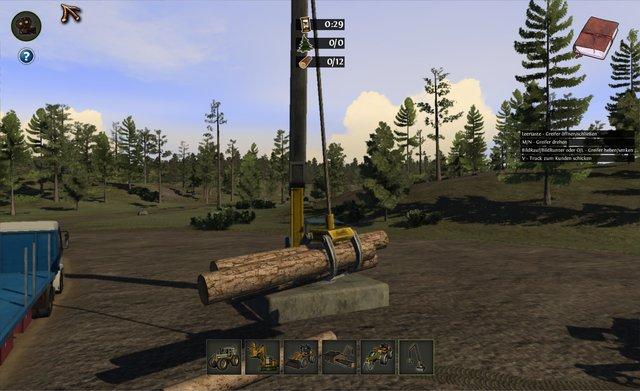 Woodcutter Simulator 2011 screenshot