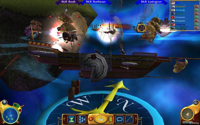 Планета сокровищ: Битва при Проционе screenshot