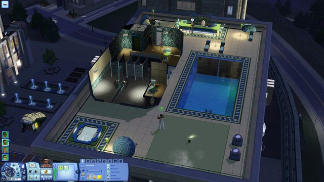 Sims 3: В сумерках, The screenshot