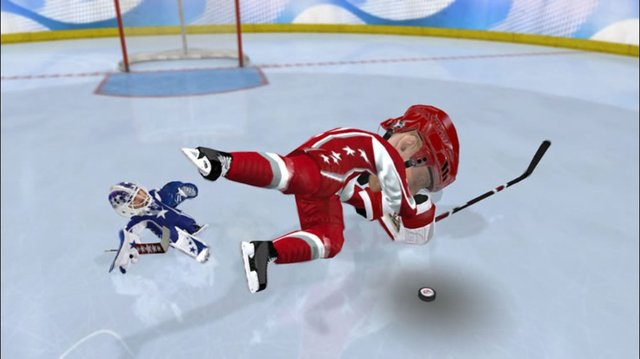 3 on 3 NHL Arcade screenshot
