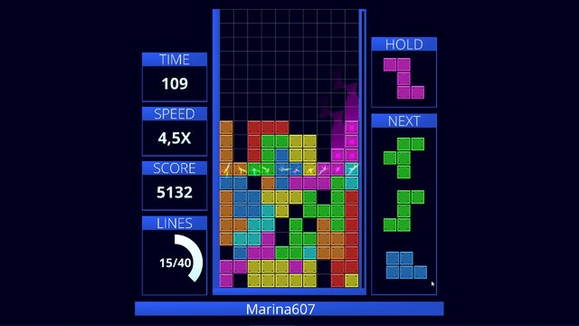 TETRUX: Online screenshot