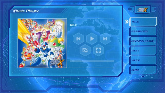 Mega Man X Legacy Collection screenshot