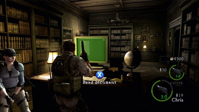 Resident Evil 5: Lost in Nightmares screenshot
