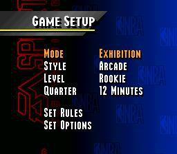 NBA Live 95 screenshot