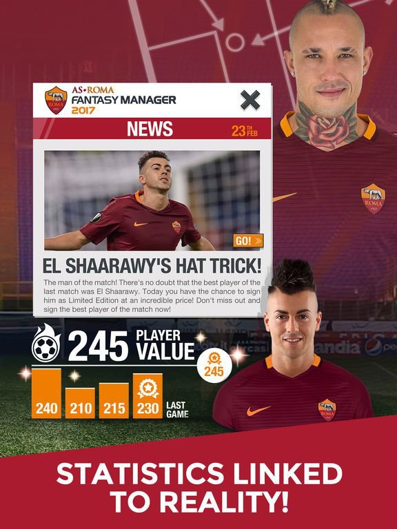 AS Roma Fantasy Manager 2017 - your football club screenshot