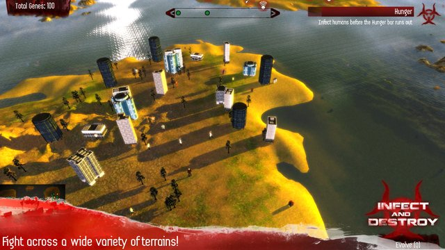 Infect and Destroy screenshot