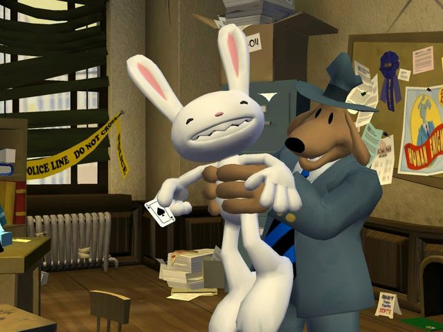 Sam & Max 103: The Mole, the Mob and the Meatball screenshot
