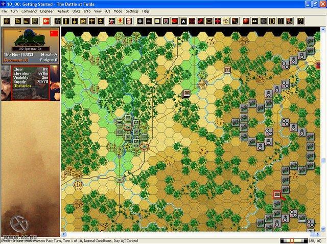 Modern Campaigns: Fulda Gap '85 screenshot