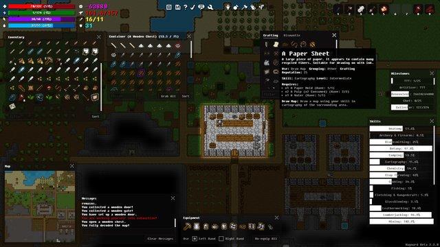 Wayward screenshot