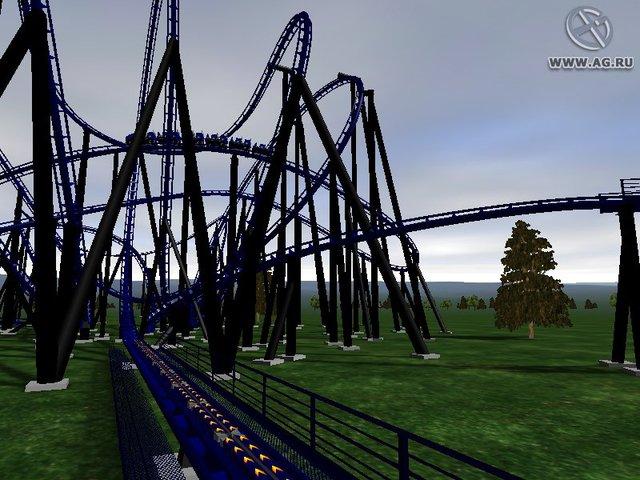NoLimits Rollercoaster Simulation screenshot