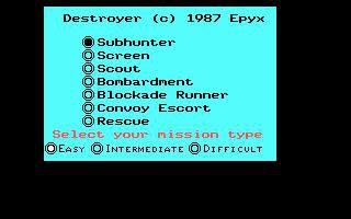 Destroyer (1986) screenshot