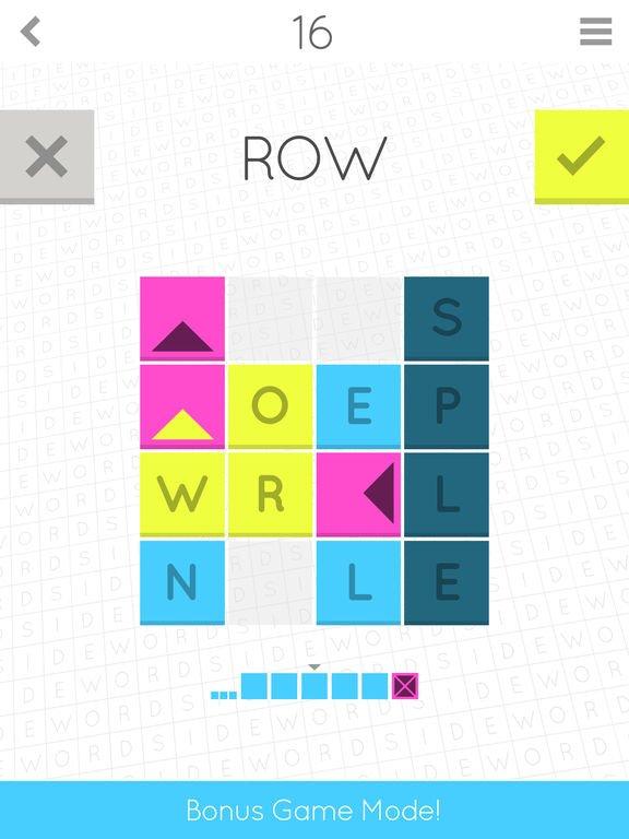 Sidewords screenshot