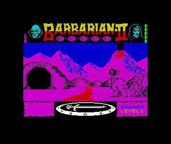 Barbarian II: The Dungeon of Drax screenshot