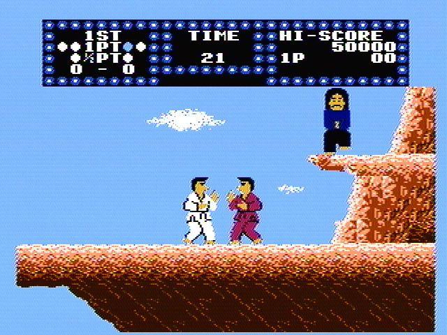Karate Champ (1984) screenshot