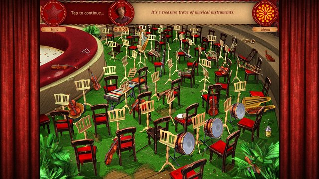 Forgotten Places: Lost Circus screenshot