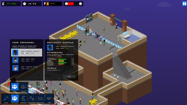 Overcrowd: A Commute 'Em Up screenshot