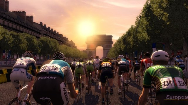 Tour de France 2013 screenshot