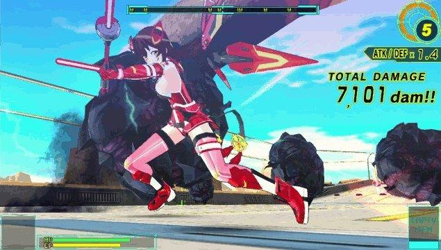 Battle Girls: Time Paradox screenshot