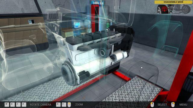 Truck Mechanic Simulator 2015 screenshot