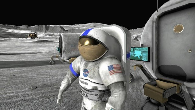 Moonbase Alpha screenshot