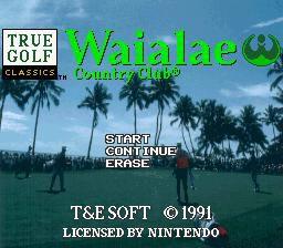 True Golf Classics: Waialae Country Club screenshot