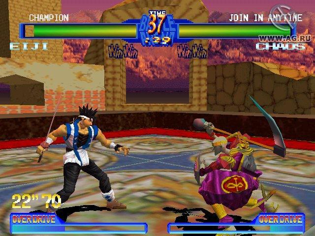 Battle Arena Toshinden 2 screenshot