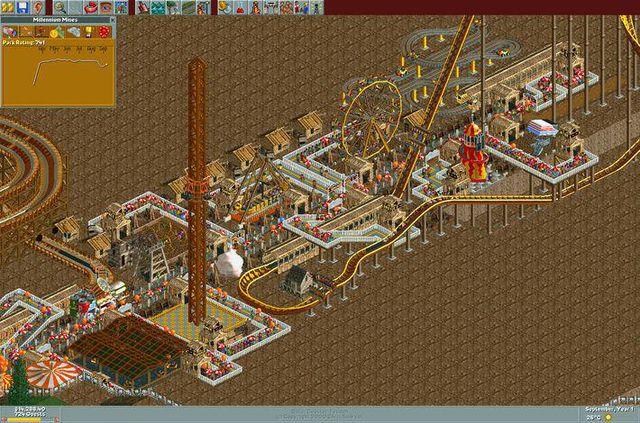 RollerCoaster Tycoon: Deluxe screenshot