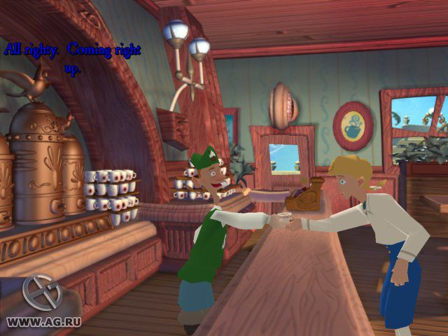 Escape from Monkey Island screenshot