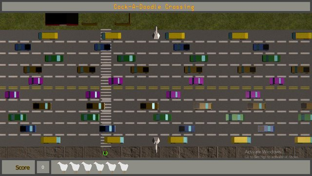 Cock-A-Doodle Crossing screenshot