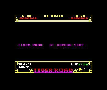 Tiger Road screenshot