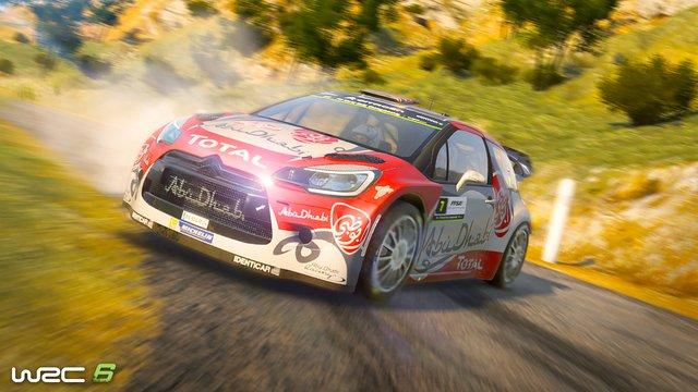 WRC 6 FIA World Rally Championship screenshot