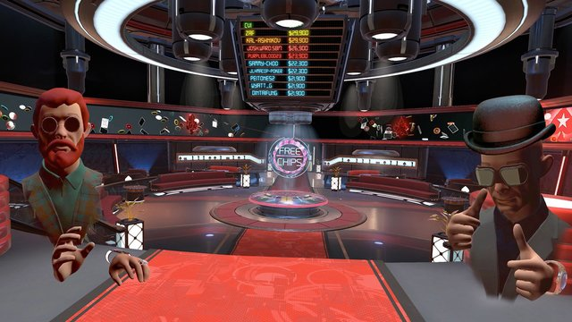 PokerStars VR screenshot