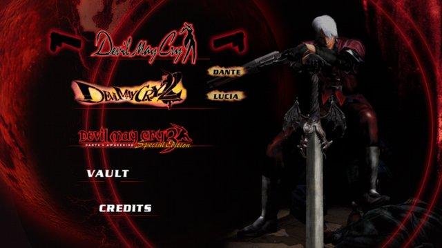 DMC HD Collection screenshot