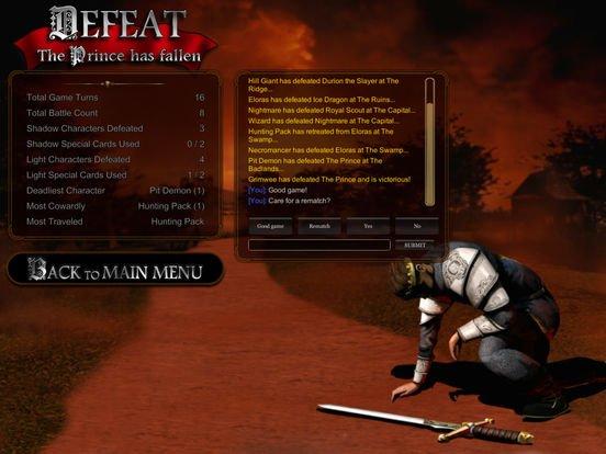 Reiner Knizia's The Confrontation screenshot