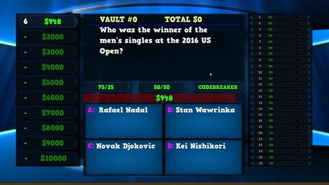 Trivia Vault: Tennis Trivia screenshot