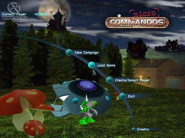 Micro Commandos screenshot