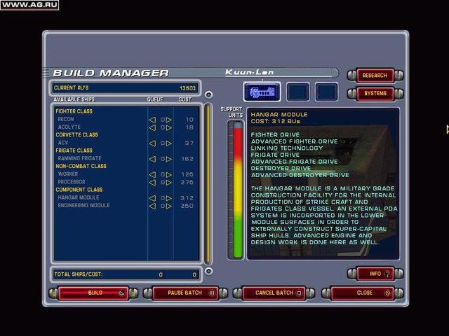 Homeworld: Cataclysm screenshot