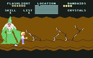 Cave of the Word Wizard screenshot