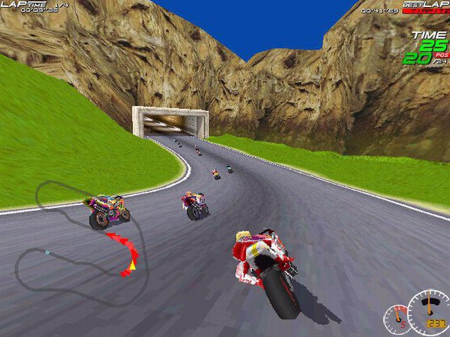 Moto Racer screenshot
