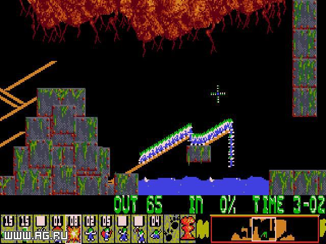 Lemmings screenshot
